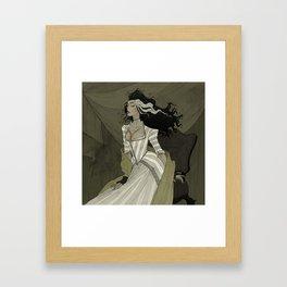 A Bride for the Monster Framed Art Print