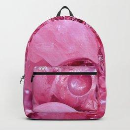 Pink Skull Backpack