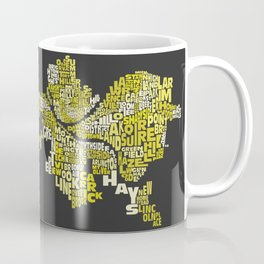 Pittsburgh Neighborhoods Coffee Mug