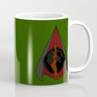 deathly hallows Mugs featuring Deathly Hallows by Nana Leonti