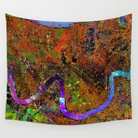 new orleans Wall Tapestries featuring new orleans by donphil