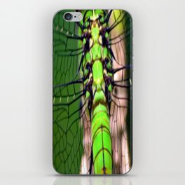 Emerald Flight iPhone Skin
