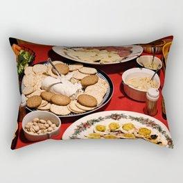 Appetizing Feasts #1 Rectangular Pillow