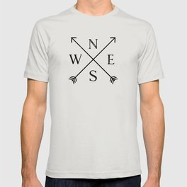 Foggy Forest Compass T-shirt