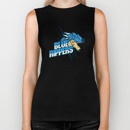 Monster Hunter All Stars - Blue Rippers Biker Tank