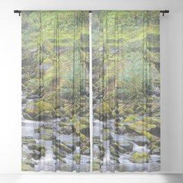 Water Falls Sheer Curtain