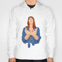 hippy Hoodies featuring Hippy Girl  by Eugene Ovchar
