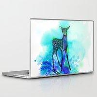 bambi Laptop & iPad Skins featuring bambi by anneamanda