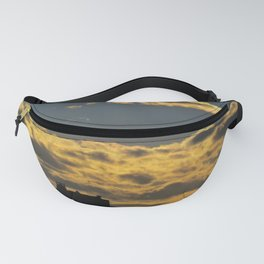 March Sunset in Portland, Maine (3) Fanny Pack