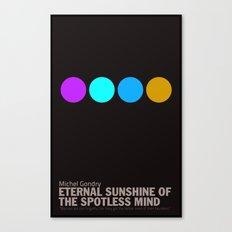 Eternal Sunshine of a Spotless Mind | Minimalist Movie Poster Canvas Print