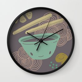 Noodle Doodle 2 Wall Clock