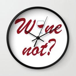 Wine not Wall Clock