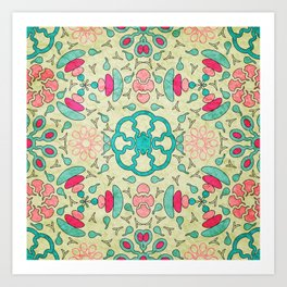 Colorful Mandala #04 Art Print