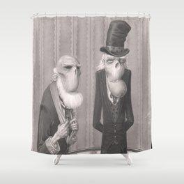 Isaiah and Bartholomew Shower Curtain