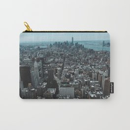 New York City from up high. Carry-All Pouch