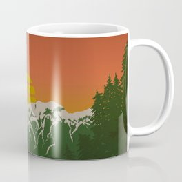 This is When Rocky Mountain Dreams Come True. Coffee Mug