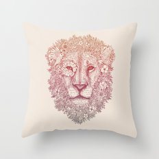 Wildly Beautiful Throw Pillow