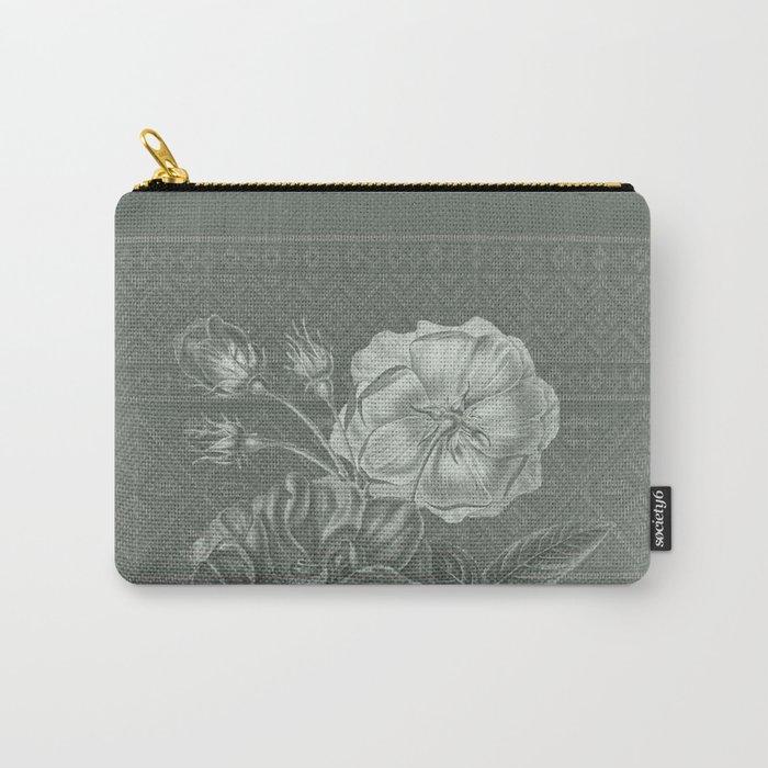 Flower - Argyle 2 Carry-All Pouch