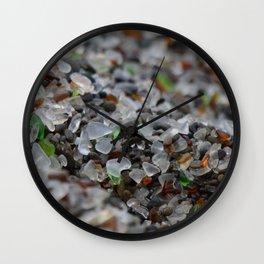 glass beach #3 Wall Clock