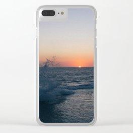 Fleeting Sun Clear iPhone Case
