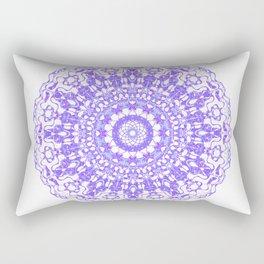 Mandala 12 / 2 eden spirit purple lilac white Rectangular Pillow