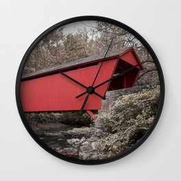 Walls of Jericho Bridge Muted Wall Clock