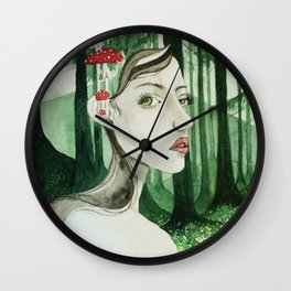Forrest sprite Wall Clock