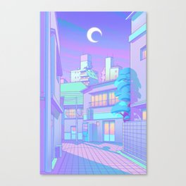 Night in Utopia Canvas Print
