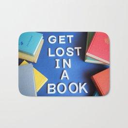 Get Lost in a Book Bath Mat