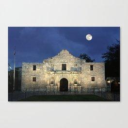 Night at the Alamo  Canvas Print