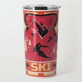 Ski Propaganda | Winter Sports Travel Mug