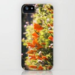 California poppy | Noriko Aizawa Buckles iPhone Case