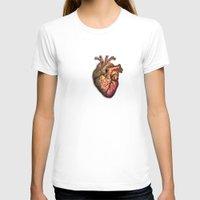 anatomical heart T-shirts featuring Anatomical heART by Li9z