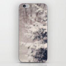 Softly Fallen Snow iPhone & iPod Skin