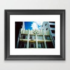 The Vic Framed Art Print