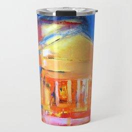 """Oil Painting """"Night"""" By Diana Grigoryeva Travel Mug"""