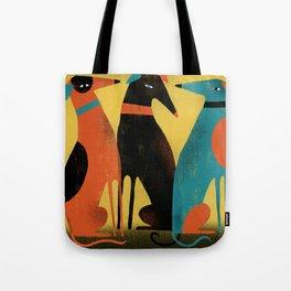 GREYHOUNDS Tote Bag