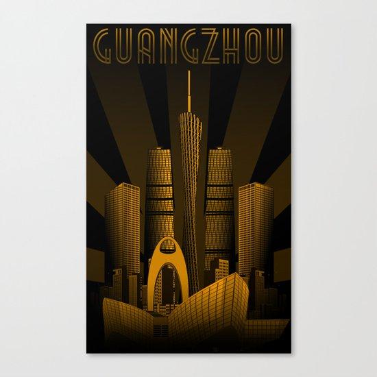Guangzhou (China) Canvas Print
