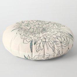 Bouquet series Floor Pillow