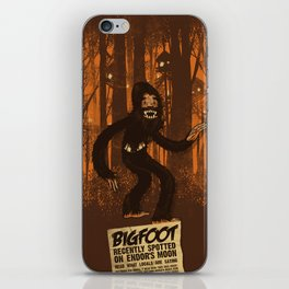 Bigfoot spotted on… iPhone Skin