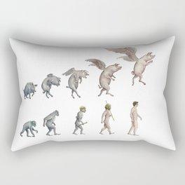 Darwin's Inspiration Mug Rectangular Pillow