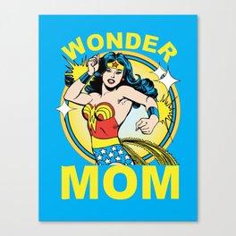 Wonder Mom Canvas Print