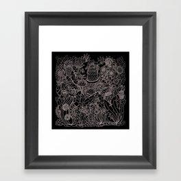 Doodle 8 Framed Art Print