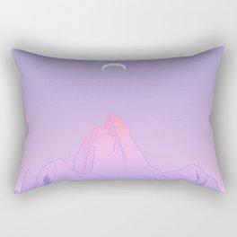Soft Moon Rectangular Pillow