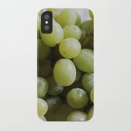 Green Grapes iPhone Case
