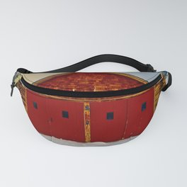 Red Farm Building Fanny Pack