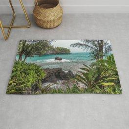 Hawaiian Turquoise Cove Rug