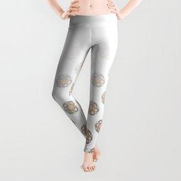 Mandala doodle0007 Kundalini Leggings