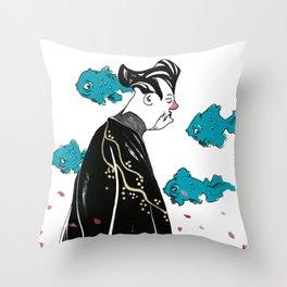 The Sensei Throw Pillow