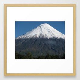 Volcan Osorno Framed Art Print